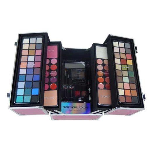 markwin maletín profesional de maquillaje 100 piezas