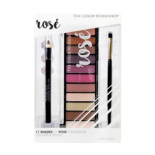 markwins the color workshops rose paleta de maquillaje de ojos