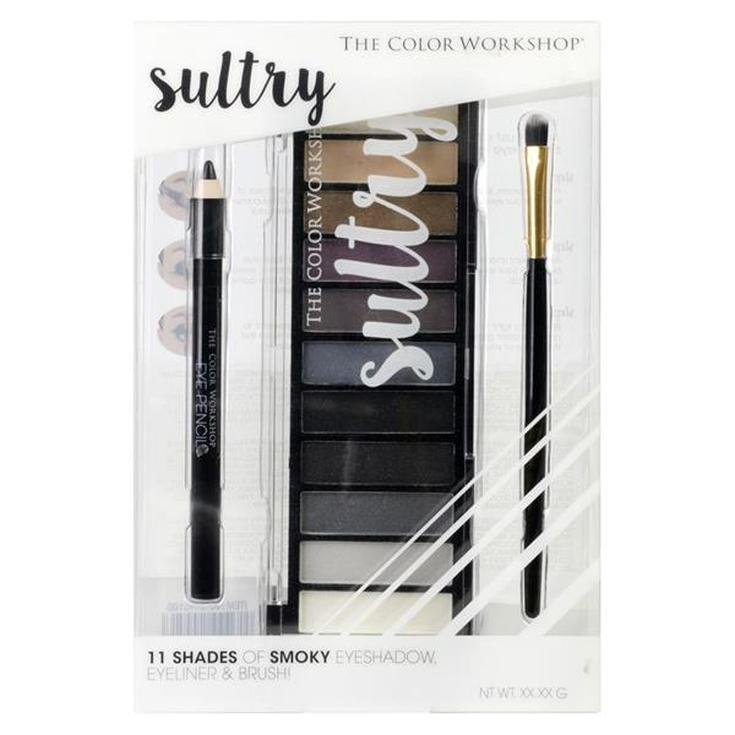 markwins the color workshop sultry paleta de maquillaje de ojos