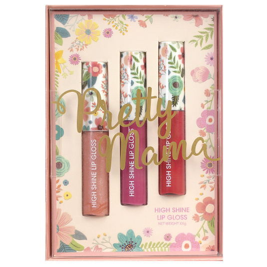 markwins pretty mama brillo de labios set