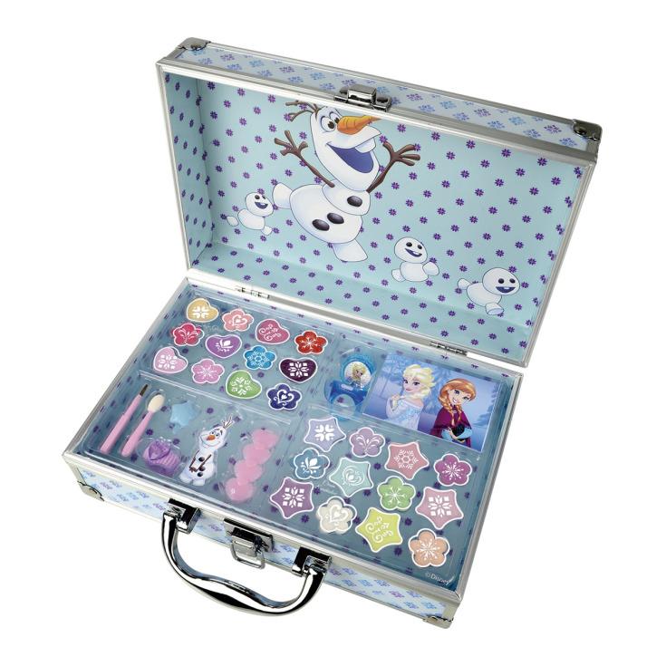markwins maletín de maquillaje infantil frozen