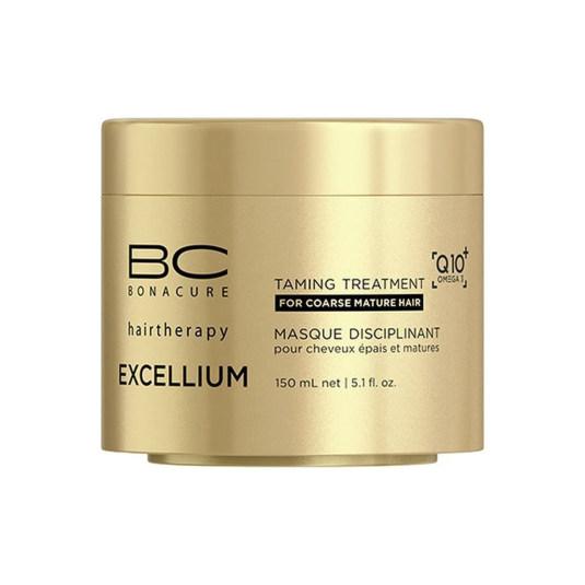 schwarzkopf pro bc bonacure excellium mascarilla capilar de control para cabellos rebeldes 150ml