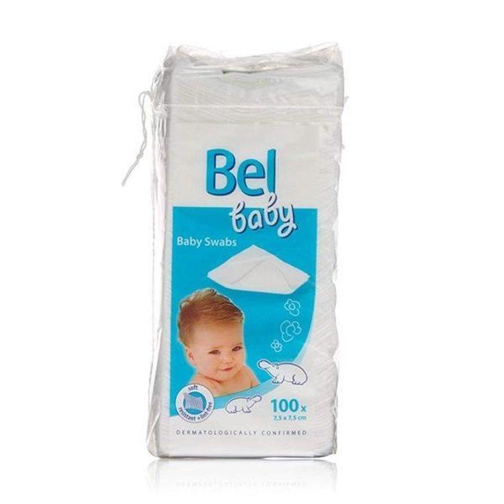 bel baby gasas no tejidas 100 unds
