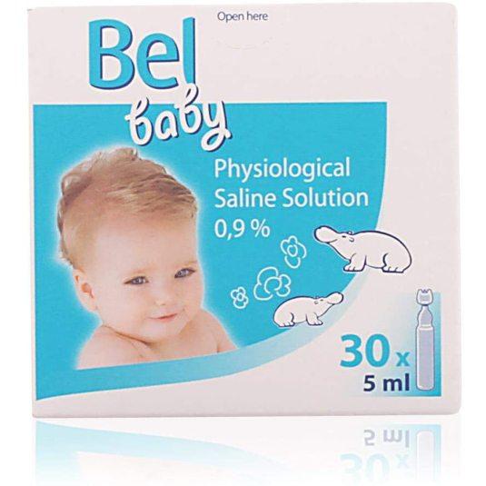 bel baby suero fisiologico ampollas 30undsx5ml