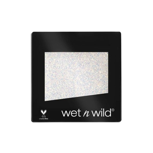 wet n wild color icon eyeshadow glitter sombra de ojos mono purpurina