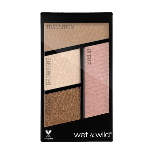 wet n wild color icon eyeshadow quads walking on eggshells paleta sombra ojos