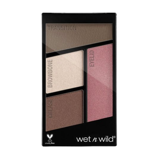 wet n wild color icon eyeshadow quads sweet as candy paleta sombra ojos