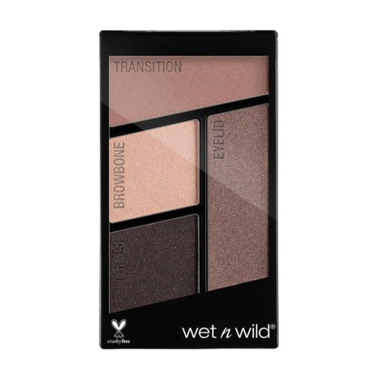 wet n wild color icon eyeshadow quads silent treatment paleta sombra ojos