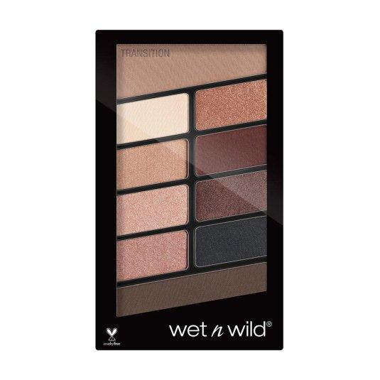wet n wild color icon nude awakening paleta sombra de ojos 10 tonos