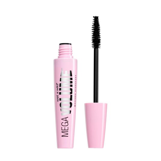 wet n wild mega volume mascara de pestañas very black
