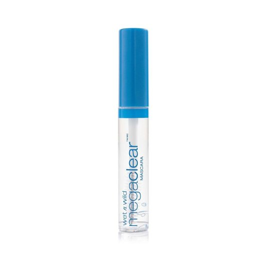 wet n wild mega clear mascara de pestañas transparente