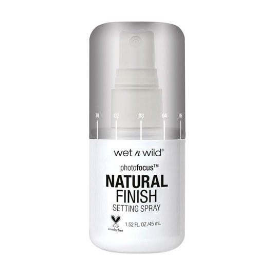 wet n wild photo focus finish natural prebase de maquillaje spray