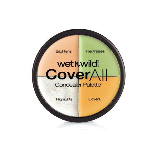wet n wild coverall paleta de correctores