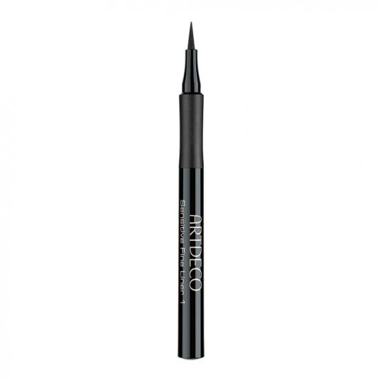 artdeco sensitive fine liner eyeliner liquido negro