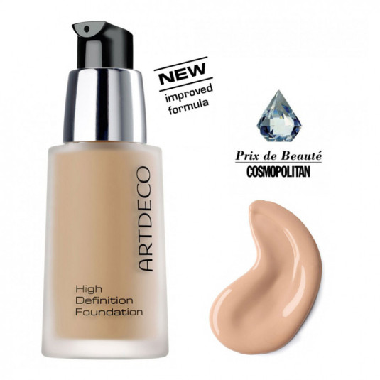 artdeco high definition foundation base maquillaje fluido