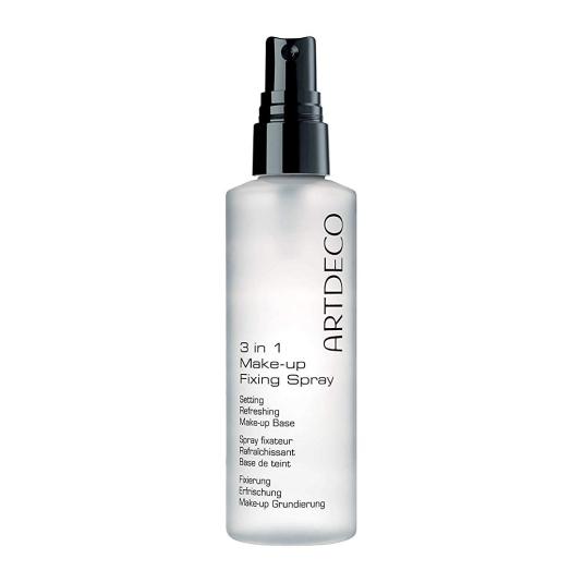 artdeco 3 in 1 make-up fixing spray pre-base fijadora maquillaje