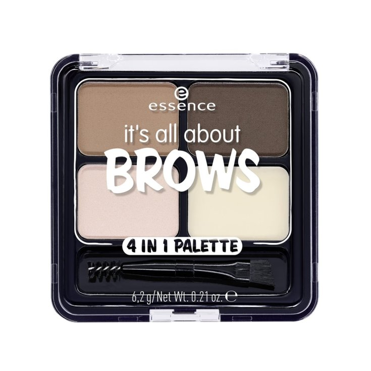 essence it's all about brows 4in1 paleta de cejas