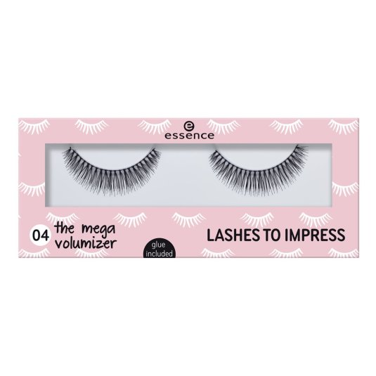 essence lashes to impress 04 pestañas postizas megavolumen