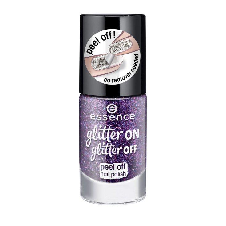 essence glitter on glitter peel off laca de uñas