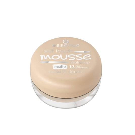 essence soft touch mousse base de maquillaje mate