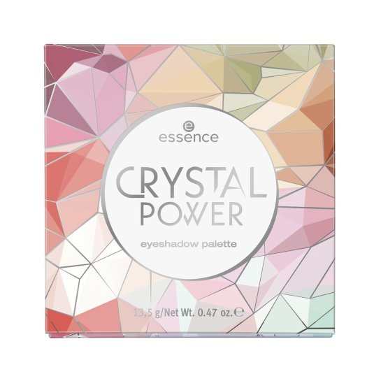 essence crystal power paleta de sombra de ojos 16 tonos