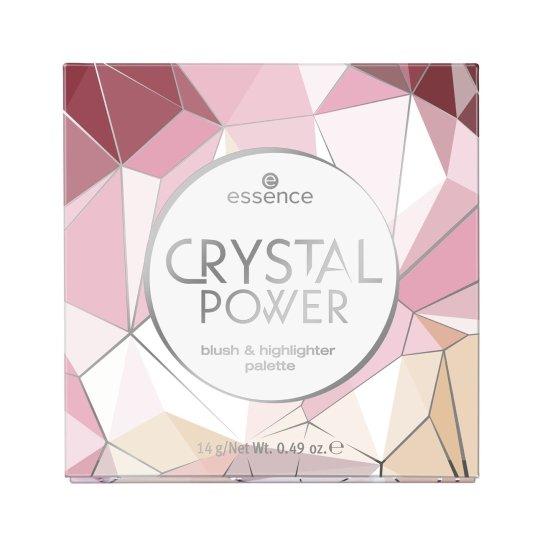 essence crystal power palete de coloretes e iluminadores