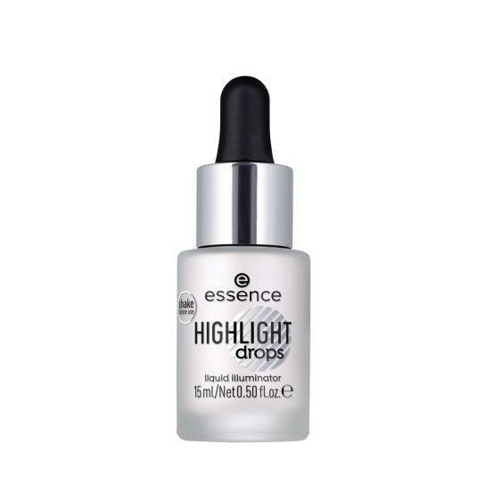 essence highlight dropsluminador líquido 10 silver lining