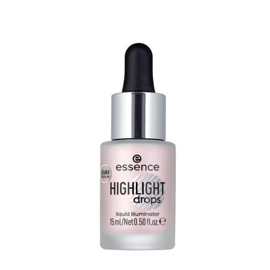 essence highlight dropsluminador líquido 20 rosy aura