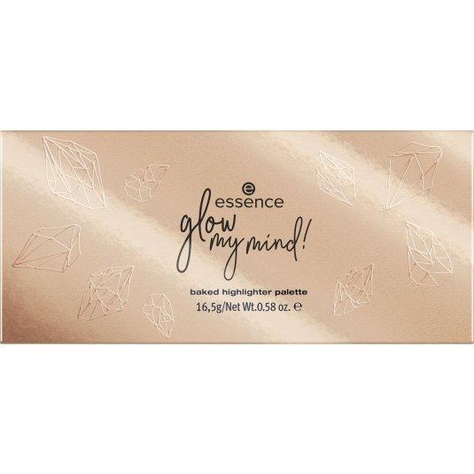 essence glow my mind! paleta de iluminadores tostados edición limitada