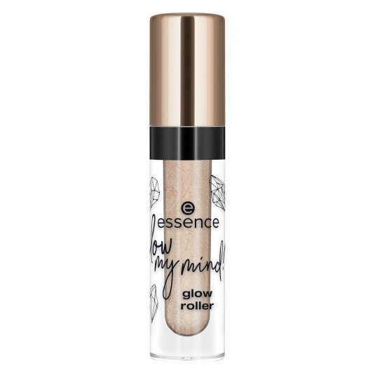 essence glow my mind! glow roller glow getter iluminador líquido roll-on