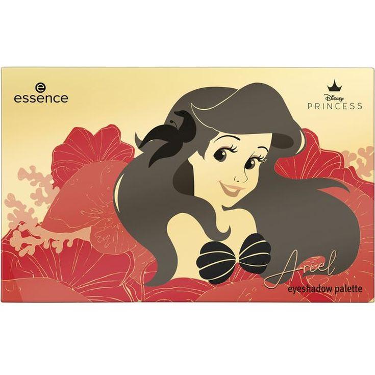 essence disney princesa ariel paleta de sombras 15 tonos