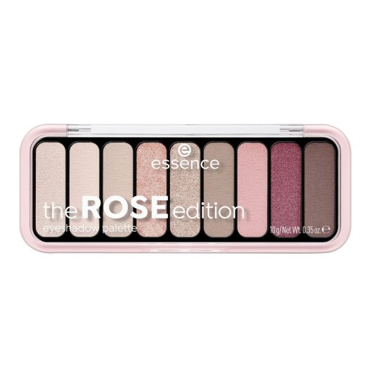 essence the rose edition 20 eyeshadow palette paleta de sombra de ojos