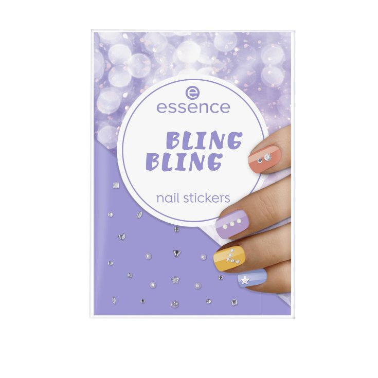 essence bling bling stickers de uñas