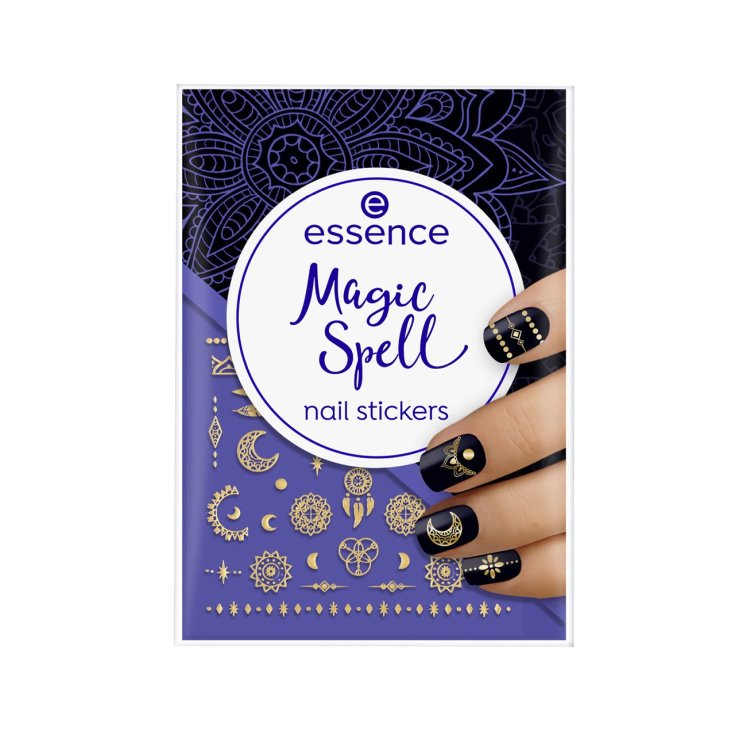 essence magic spell stickers de uñas