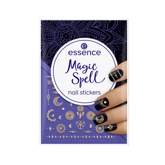 essence magic spell stickers de uñas