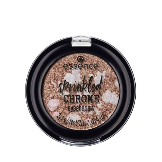 essence sprinkled chrome sombra de ojos mono