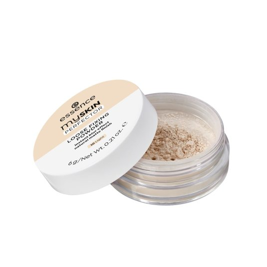 essence my skin perfector loose fixing powder sueltos fijadores