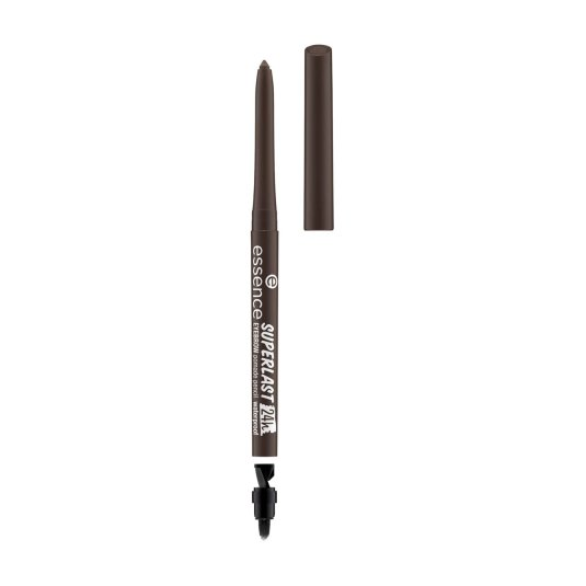 essence superlast 24h eyebrow pomade pencil waterproof lapiz de cejas marron