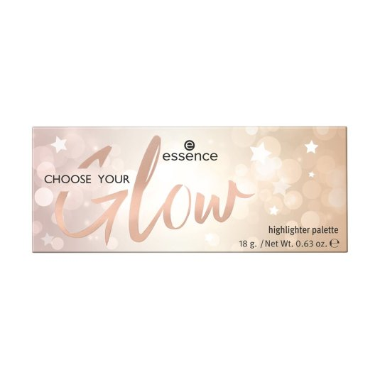 essence choose your glow paleta iluminadores