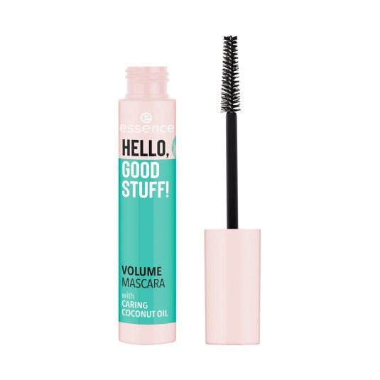 essence hello, good stuff! volume mascara de pestañas negra