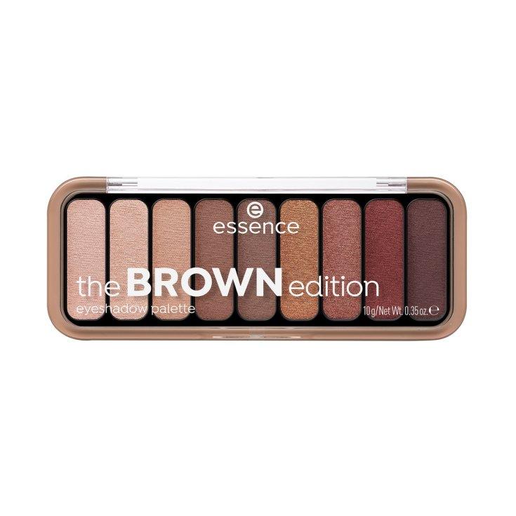 essence the brown edition paleta de sombras de ojos