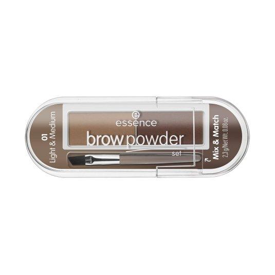 essence brow powder set polvos para cejas