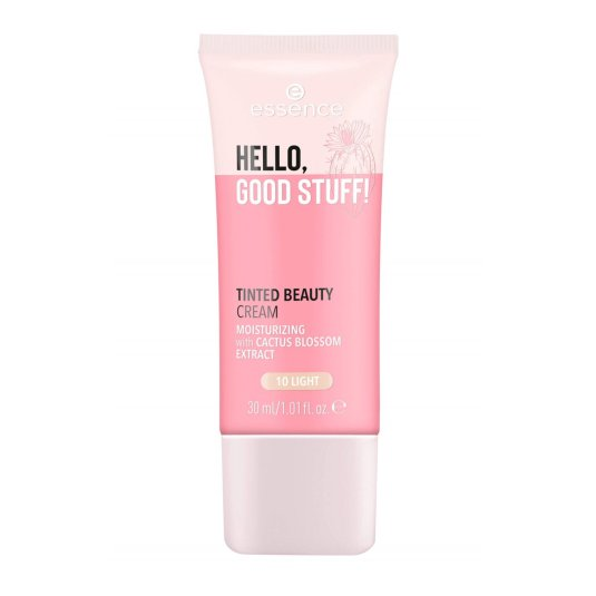 essence hello, good stuff! tinted beauty cream crema con color