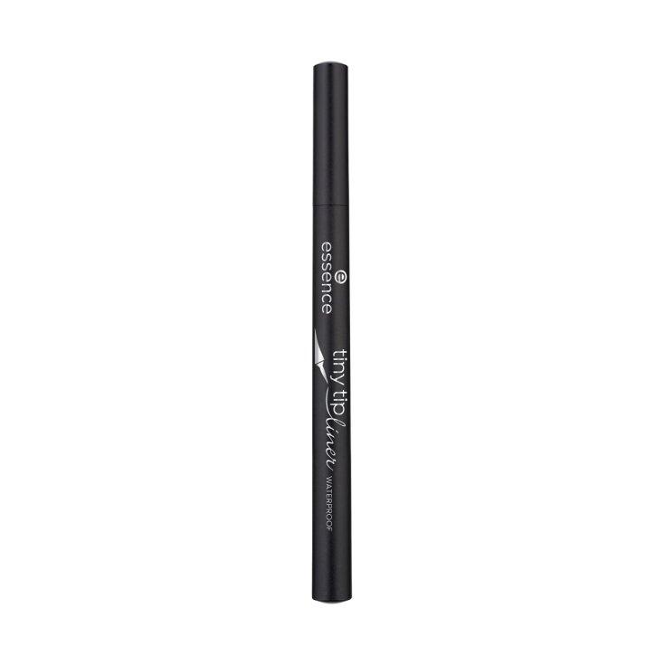 essence tiny tip liner waterproof eyeliner liquido negro