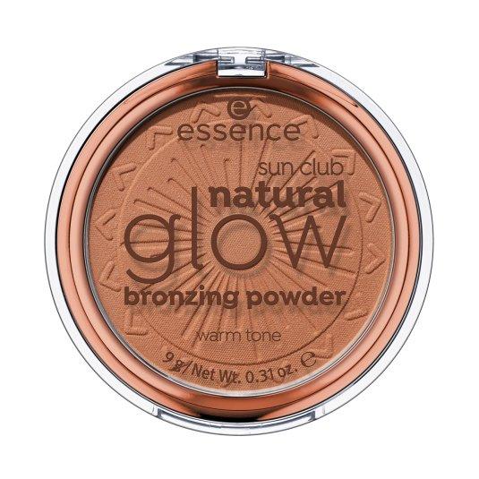 essence sun club natural glow bronzing powder polvos bronceadores