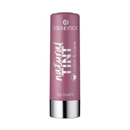 essence natural tint color & care balsamo labial