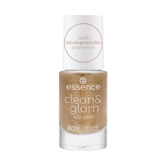 essence clean & glam top coat