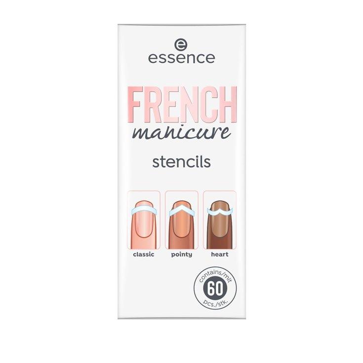 essence french manicure stencils 60 unidades