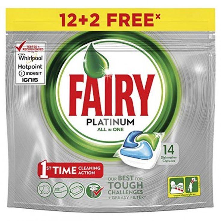 fairy platinum original 12+2 capsulas