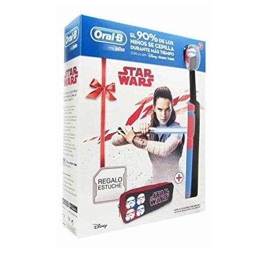 oral-b cepillo eléctrico kids pack star wars
